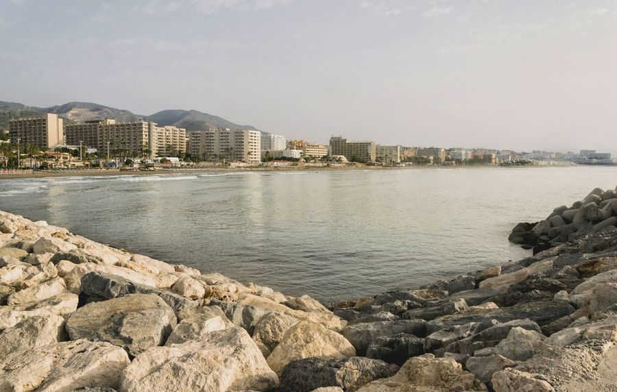 EyeEm Selects Beach Sea Outdoors Architecture Travel Destinations Vacations Sky City Water Built Structure Nature Coast Coastline Town Peñíscola SPAIN Europe Seascape