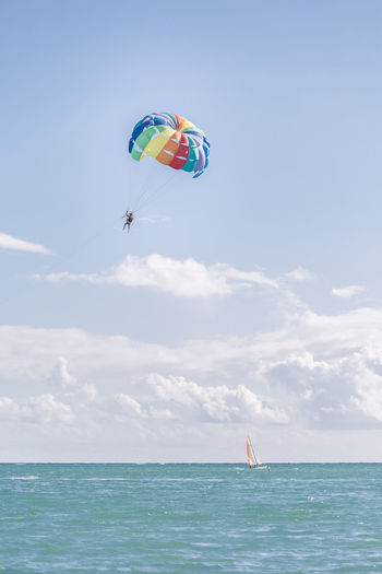Parasailing at