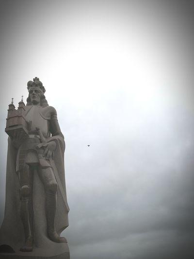 Poland King Aleksandr Sculpture Panevėžys History Lithuania Cloudy Sky Cloudyday
