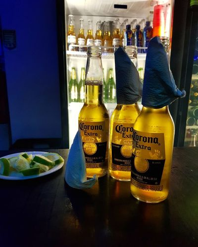 #Coronas #corona Corona Beer Drink Bottle Close-up Food And Drink