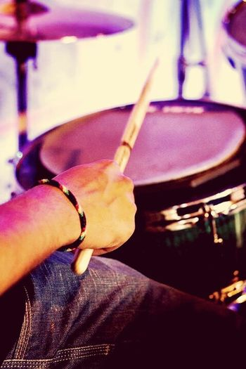 My life, warming up. Drummer Life Drummer Drums Perfect Place First Eyeem Photo