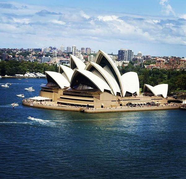 Oh so close now.... Australia Nsw The_walk Sydney SydneyHarbourBridge