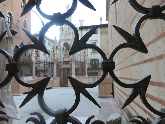 Architecture Art And Craft Built Structure Close-up Day Gate Metal No People Wrought Iron