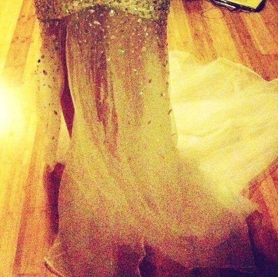 Sneak Peek Of Prom Dress ;)