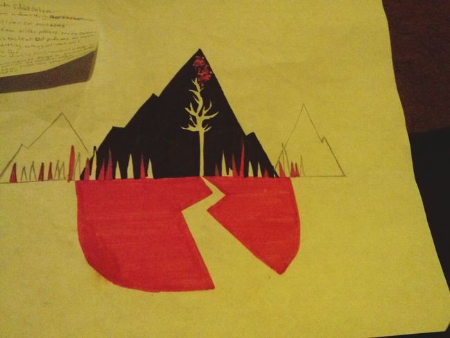Art Drawing Sws Sleepingwithsirens I drew this when I was hella tired