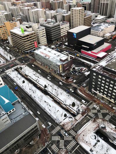 City High Angle