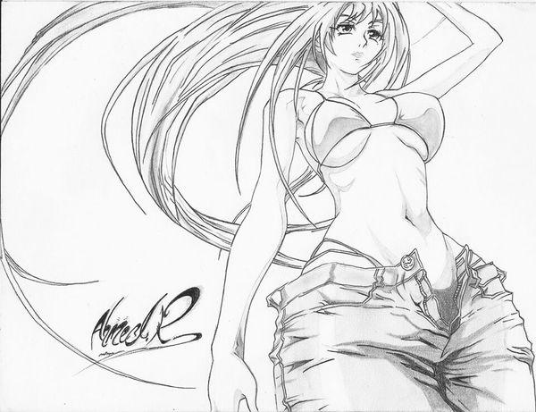 Anime My Drawing Art Sketch