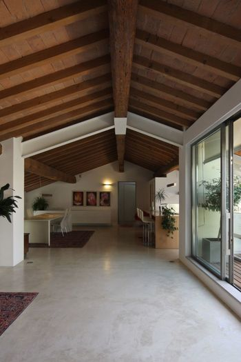 EyeEmNewHere Indoors  Ceiling Home Interior Architecture Luxury Built Structure No People Home Showcase Interior Architectural Column Modern Living Room Illuminated Roof Wood - Material Concrete Floor
