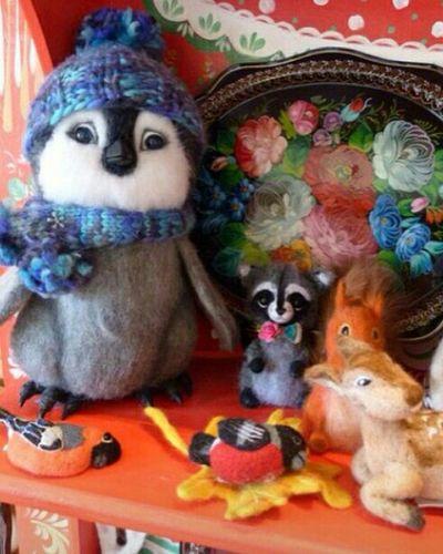Popular Photos EyeEm Gallery Eye4photography  Toys Felting Taking Photos Penguin Игрушки игрушка Масленица2015