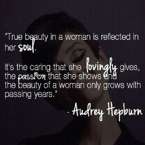 very true. :) @pinquotes AubreyHepburn Love Life Women passion me repost quote quotes pinquotes follow nofilter like instadaily life