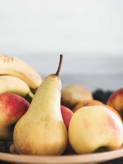 Close-up Day Food Food And Drink Freshness Fruit Healthy Eating Indoors  No People Pear