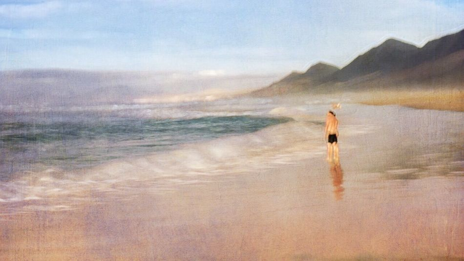 COFETE Beach Lonely Ocean Ocean View