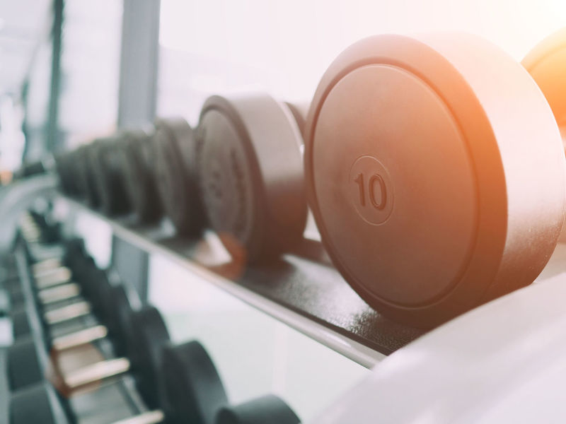 Close-up Day Dumbbell Dumbbells Indoors  No People Sport Technology