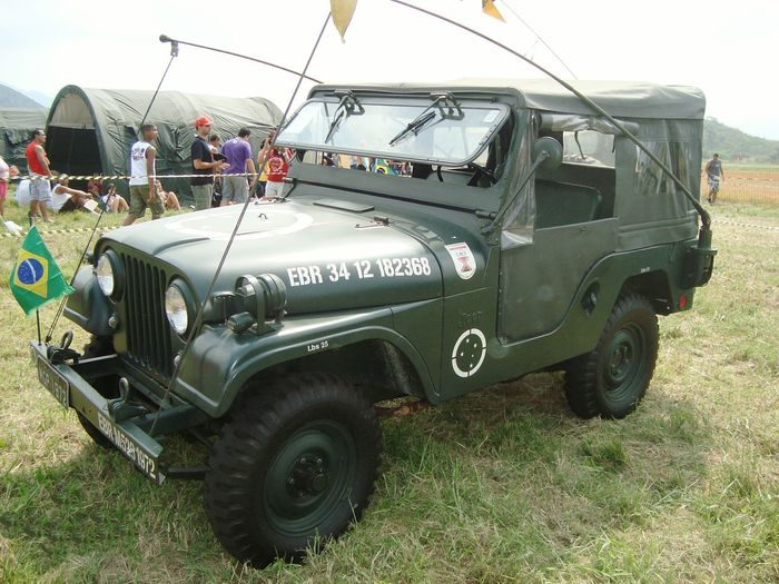 Outdoors Museu Aereo Espacial Campo Dos Afonsos Exercito Brasileiro Jeep Military Car Military Jeep