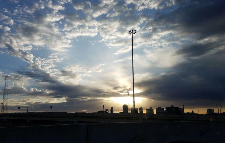 My Cloud Obsession☁️ Cloud Porn South Texas Sunrise_Collection Urban Skyline Cityscape Downtown Corpus Christi, Tx El Sol