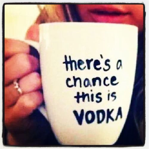 Vodka Drinkofchoice Officemug Theresachance