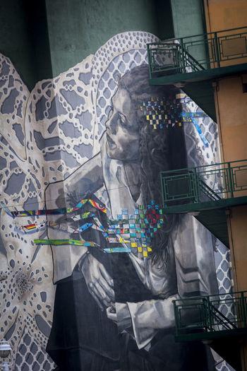 Art Bilblao Callejeando Graffiti Graffiti Art Mujer Puente De La Salve Streetphotography Woman