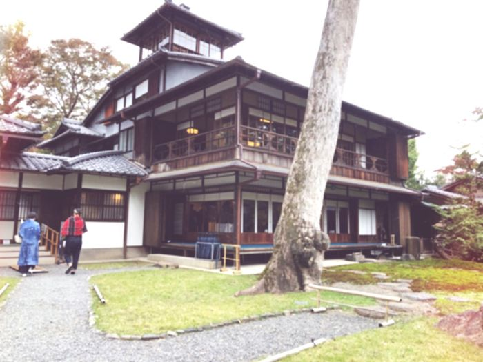 Old Mitsui Family Shimogamo Villa 下鴨*京都 Important Cultural Property Architecture Built Structure Building Exterior Building Tree Walking