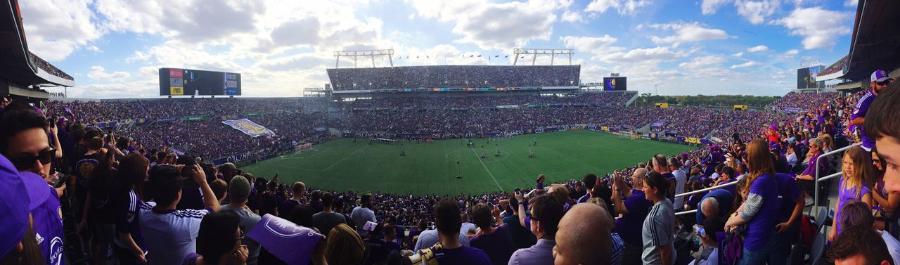 Orlando City Soccer Club - MLS Inaugural Game - March 8, 2015. Orlando Citrus Bowl vs NYFC. Orlando City Soccer
