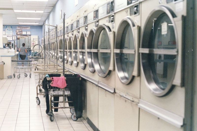Interesting life perspectives at the local laundromat. - Photos taken on 35mm film with Canon AE-1 Program analog camera. Streetwise Photography Streetphotography Street Analogue Photography Analog 35mm Film Film Photography Canon AE-1 Canon Canon AE-1 Program  Laundromat Washing Machine Household Equipment Domestic Life Cleaning Indoors  Monotony The Week on EyeEm Best Of EyeEm My Best Photo The Art Of Street Photography