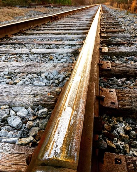 Railroad tracks through West Atlanta Fine Art Photography ATL