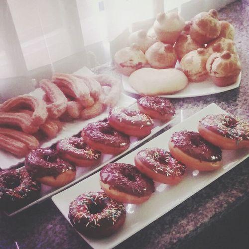 Donas, churros & bisquets Donuts Churros Gastronomy Food Foodporn Loveit Uag