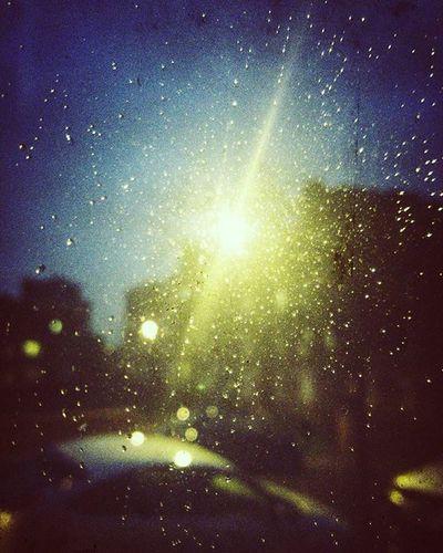 (Day 26 of 366) Rain Light Streetlight Night Nickblak