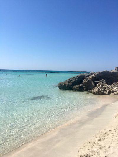 Grecia 💜 Creta Elafonisi Beautiful Day