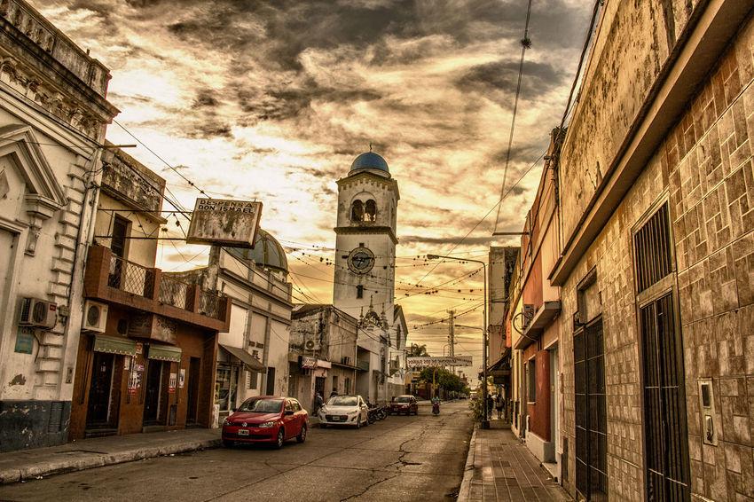 Atardecer HDR MONTEROS Tucumán  Abandonado Hermoso Historia Iglesia
