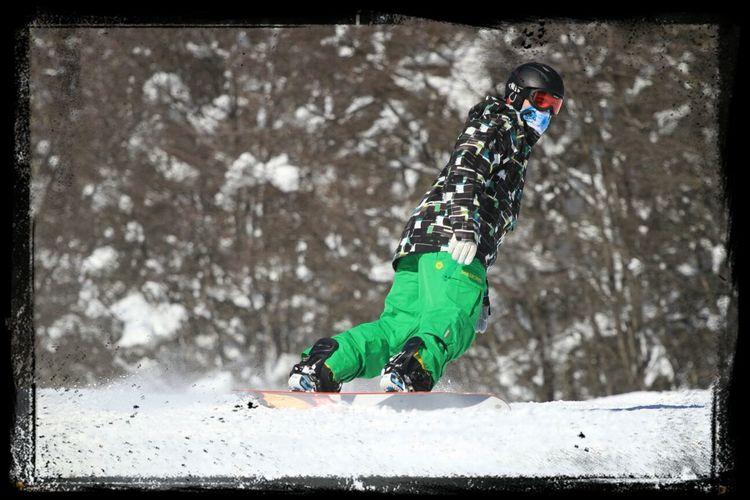 Estaba fantastica la nieve en Chapelco hoy! Enjoying Life Patagonia Nieve2013 Snowboarding