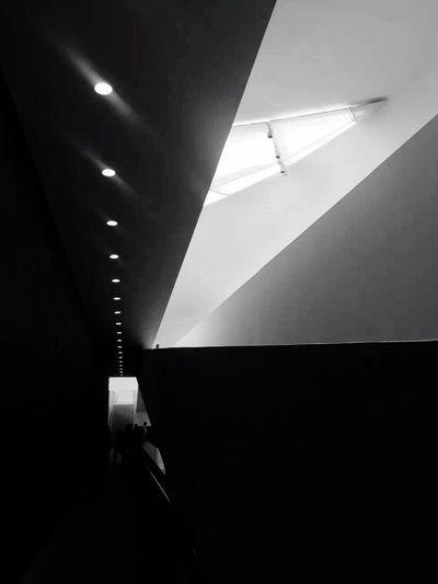 National Art Museum of China One Person Illuminated Indoors  Adult Full Length People One Man Only Technology Real People Adults Only Architecture Day Only Men