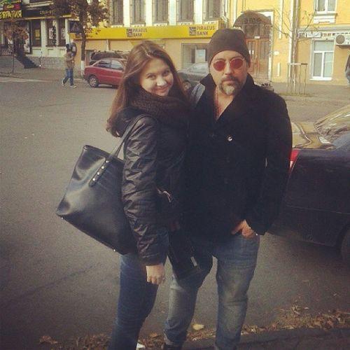 случайно встретила Диму Коляденко на Улицах Киева встреча неожиданно радость приятно здорово Киев фото со звездой прогулка :)