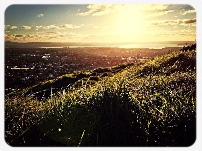 Guten Morgen Deutschland! Sunset Auckland [a:18300]