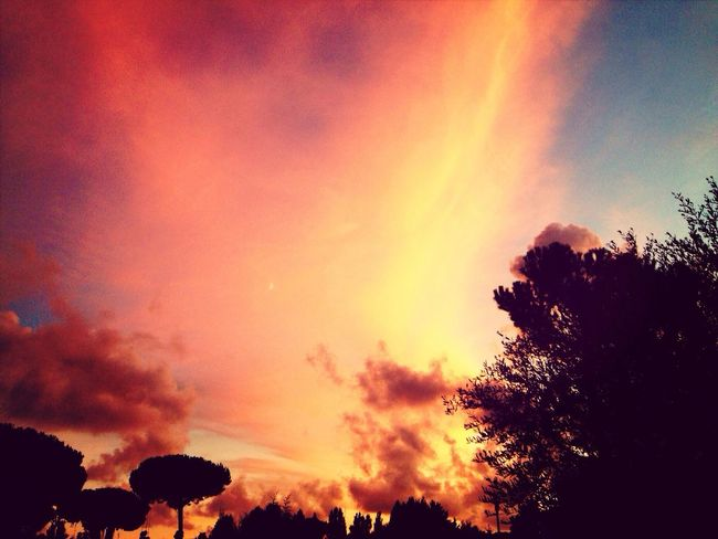 Yesterday Home ? Sunset Rome Relaxing Taking Photos