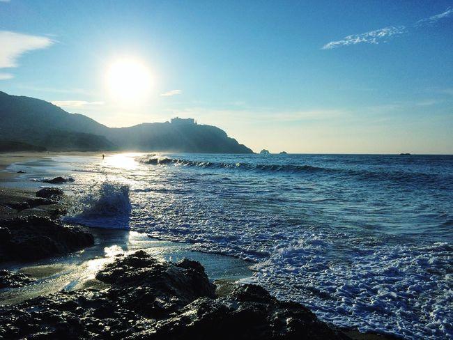 Sky Sea Sea And Sky Seascape Beach Morning Scenery Landscape Beautiful