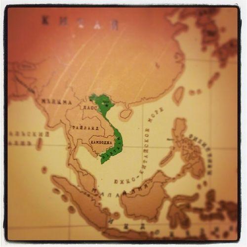 На стирательной карте нарисовался Vietnam :)