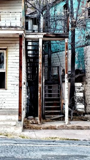 Architecture Abandoned Built Structure No People Bad Condition Day Outdoors Close-up Forgotten Walls Abonded Places Wooden Structure Wooden Stair