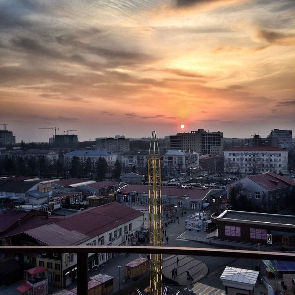 Закат краснодар город красота