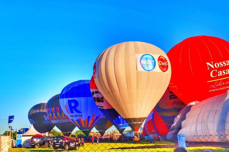 Festival de balonismo de Torres Hot Air Balloon Outdoors Clear Sky