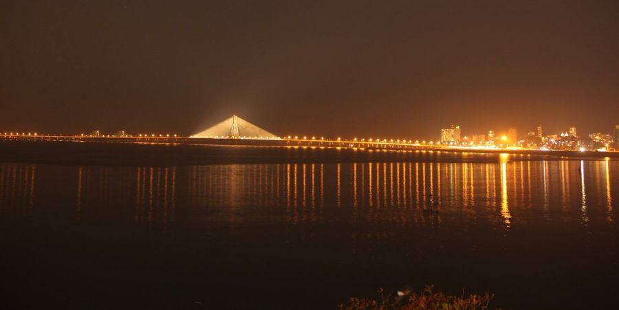 Cityscapes ... The new iconic feature of Mumbai.. Bandra Worli Sea Link in all its glory