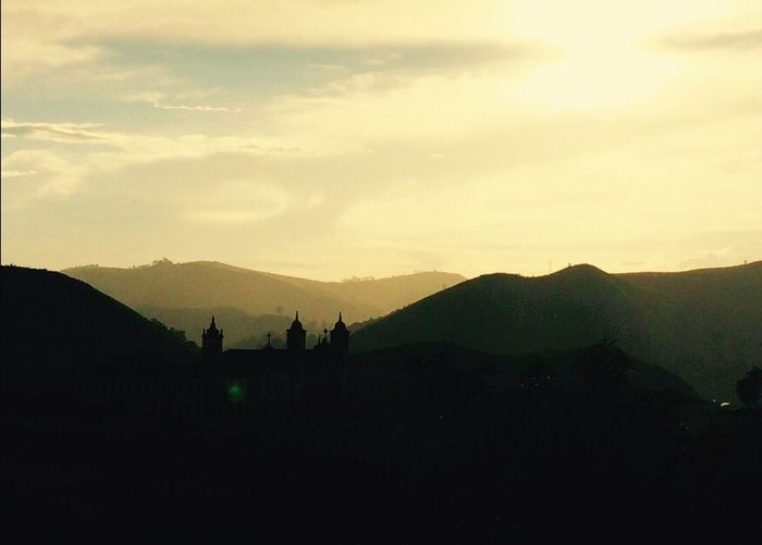 Sky Mountain Mountain Range Sunset Tranquil Scene Ouro Preto - Brasil Brasil Minas Gerais Architecture Silhouette Beauty In Nature Nature Scenics Travel Destinations Outdoors Cloud - Sky Landscape No People Day EyeEmNewHere Carnival Crowds And Details The City Light