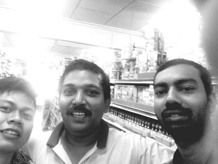 Selfi : ) With My Friend Tamilnadu In Brunei Good Job!