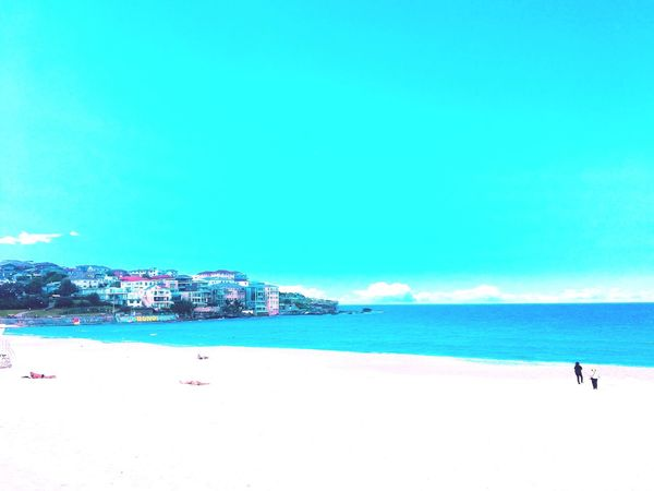 Outdoors Australia Sea And Sky Beach Bondi