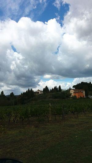 Agriculture Cloud - Sky Outdoors No People Landscape Day Nature Sky Toscane, Toscana Toscana ıtaly Toscana_amoremio Castle Garden
