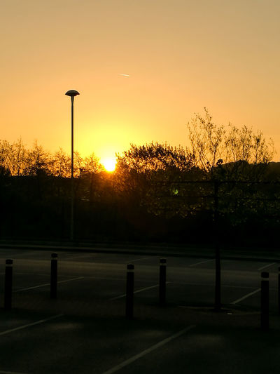 Sky Outdoors Sunrise Sunshine Mottram Mottram Moor Tranquility