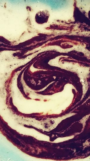 Ying and Yang? Check This Out Icecream Yummy♡
