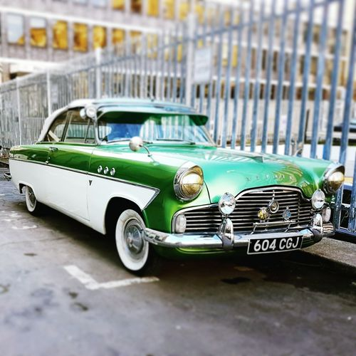 Classic Car Ford Zephyr Car Land Vehicle Old-fashioned No People Outdoors Day London
