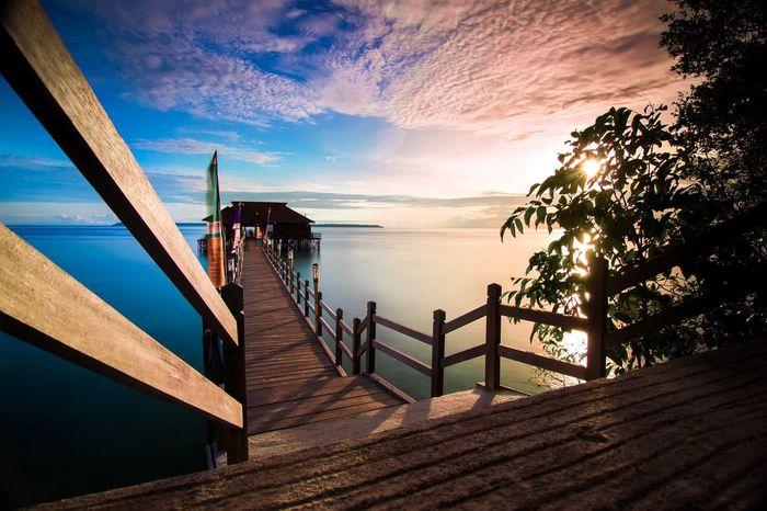 Pratasaba Maratua Island EyeEm Best Shots BerauASIK Eyeemphotography Water Sea Sky Beach Nature Beauty In Nature Sunset Horizon Horizon Over Water