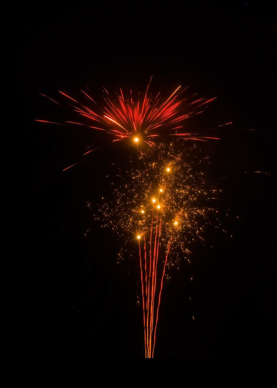 illuminated, motion, night, firework, celebration, exploding, event, firework display, arts culture and entertainment, long exposure, firework - man made object, glowing, no people, blurred motion, sky, nature, sparks, light, low angle view, outdoors, sparkler, explosive, festival
