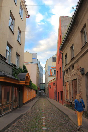 Colour Of Life Colorful City Colors Street Old StreetVilnius Old Town Vilnius